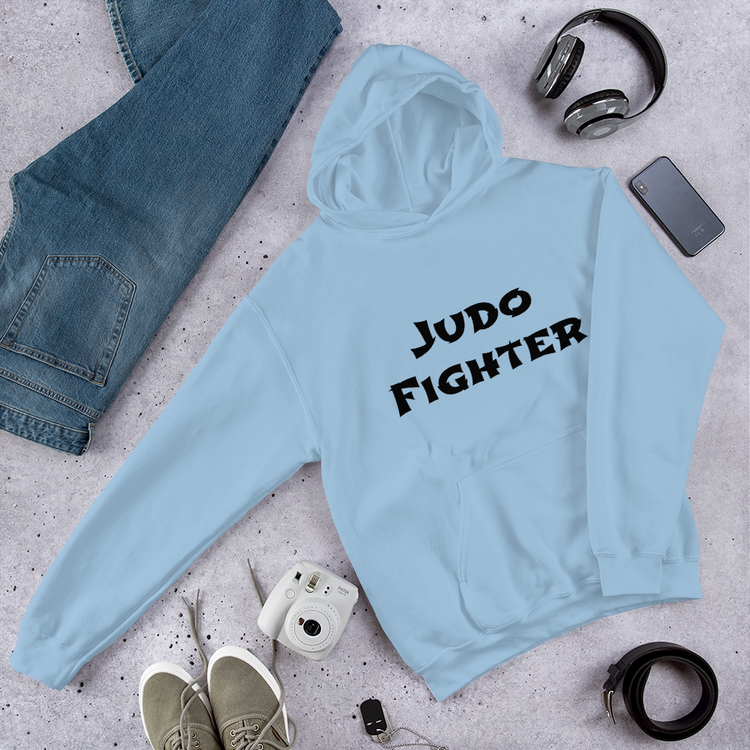 Unisex Hoodie - Judo Fighter / ditt namn