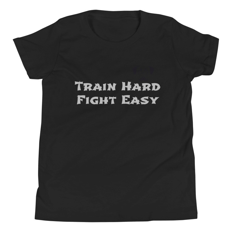 Youth T-Shirt - Train Hard Fight Easy