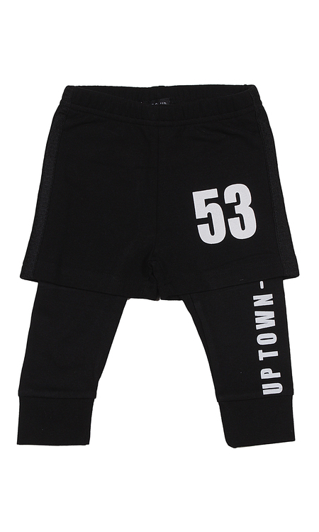 Byxa med shorts, stl 62