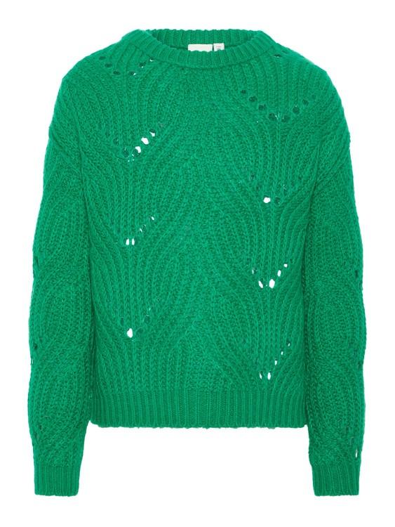 Stickad tröja, 122/128-158/164