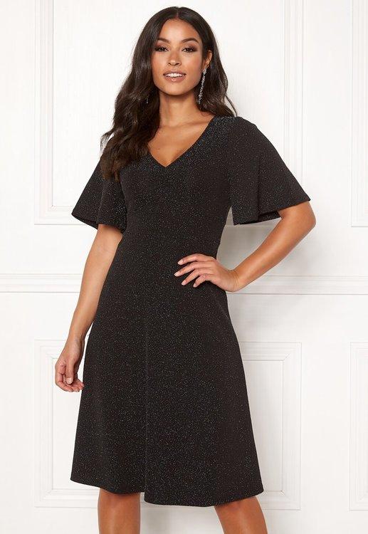 Olivia lurex dress