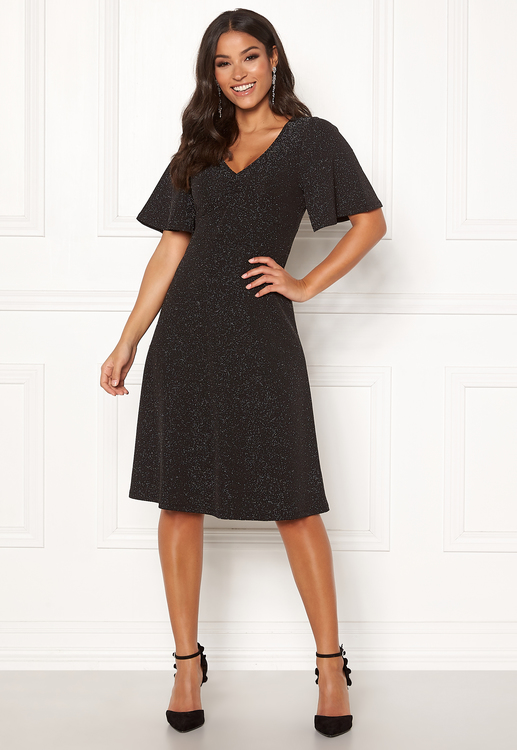 Olivia lurex dress