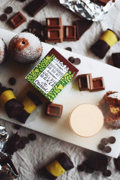 Klintas doftljus Ät choklad!