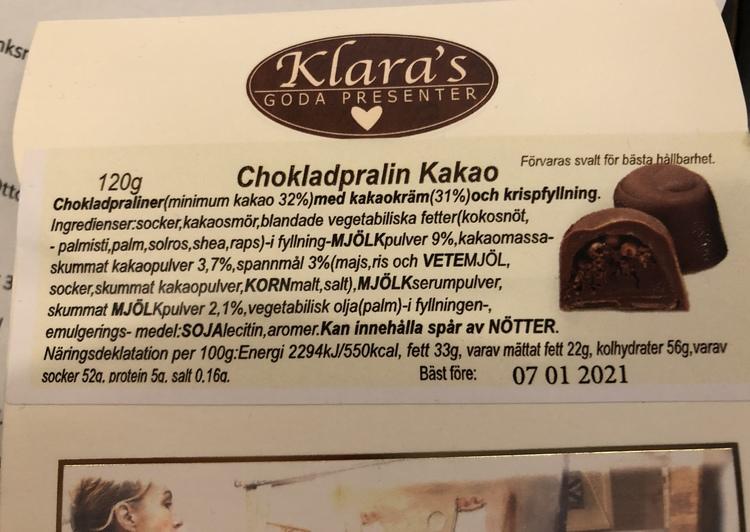 Klaras Kram