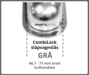 Combilock Grå
