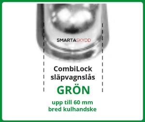 Combilock grön