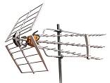 Televés Dat-HD75 aktiv antenn med LTE-skydd