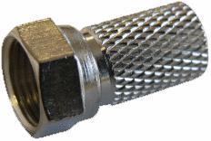 F-kontakt för 6,6mm kabel RG6