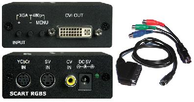 Scaler & converter to DVI-D
