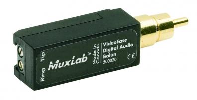 Digital audio Balun över Cat5