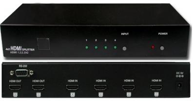 HDMI 4 in 2 ut v 1.3