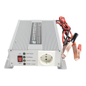 Inverter 12-230 Volt 600 Watt mod. våg laddare
