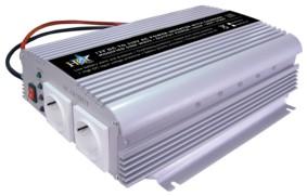 Inverter 12-230 Volt 1000 Watt mod. våg laddare