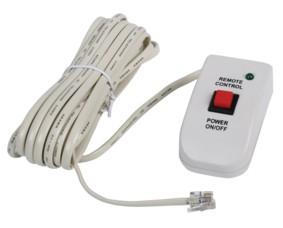 Fjärrkontroll till inverter med 6 meter kabel