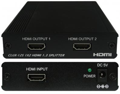 HDMI splitter 1 in 2 ut