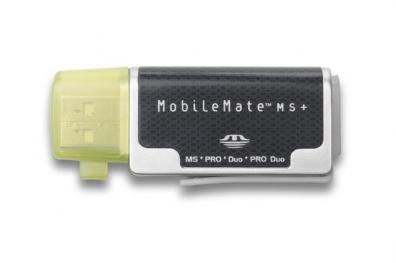 Mobile Card Reader/Writer 4-in1 Memorystick