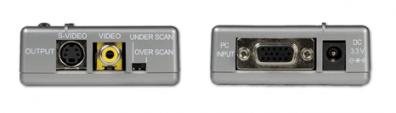 CPT-385A VGA till video / SVHS konverter