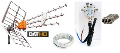 DAT-HD 45 16db Förstärkningspaket 12V 20m LTE