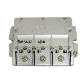 5437 F-smart PRO splitter 1:4 DC-PASS