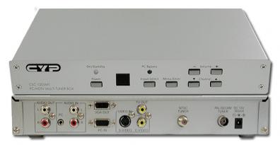 CSC-1205MT Tuner/konv. CV/SVHS till VGA