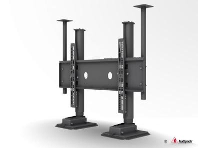 TV hiss / lyft 985 mm Dubbelarm