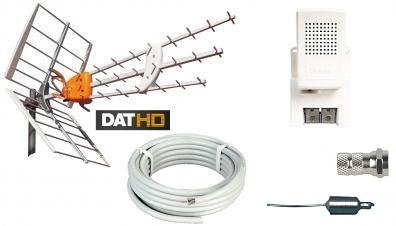 Antennpaket Stockholm Small + 20m kabel LTE