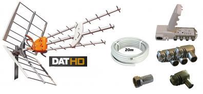 Antennpaket Stockholm Large + 20m kabel LTE
