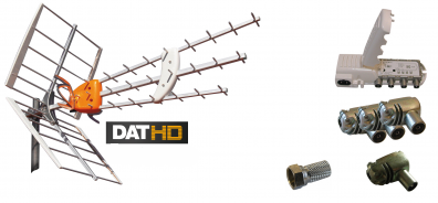 Antennpaket Norrland Large med LTE skydd