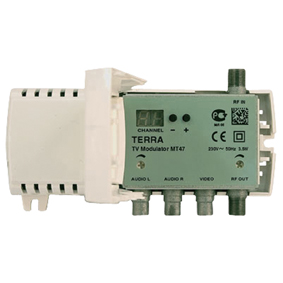 Terra MT47 RF-Modulator VHF