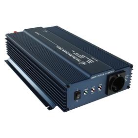 Inverter 24-230 Volt 1000 Watt ren sinusvåg