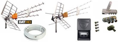 Antennpaket Skåne Large + Danmark + 20m LTE