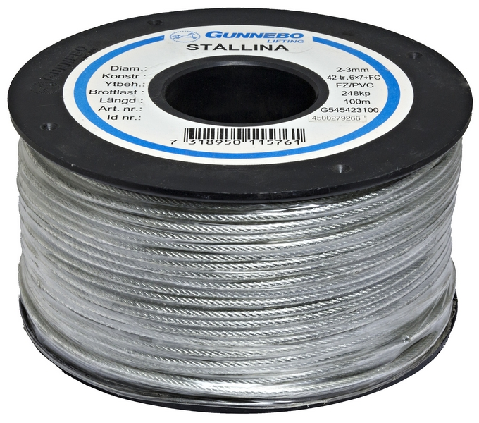 STAGWIRE 2-3 MM 100m rulle