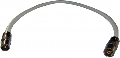 Antennkabel Super PRO 1,5m bästa kabel VIT