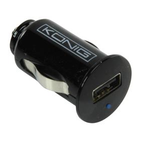 Cigarettändaruttag 12V till USB 2,1 A för IPAD mm