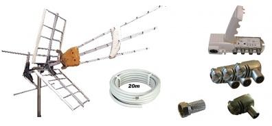 Antennpaket Gotland Large + 20m kabel LTE