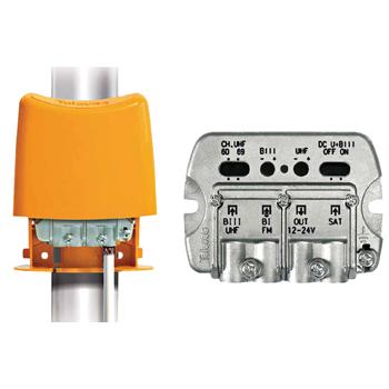 NanoKom 3 in UHF (DC-pass) / VHF / SAT LTE
