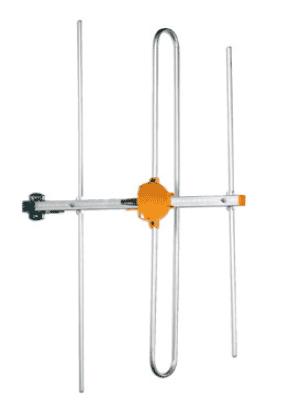 3 elements DAB-antenn