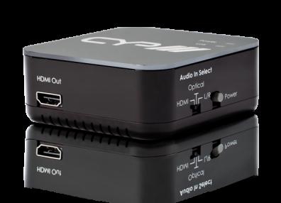 HDMI ljudinmatare med stöd för 4K upplösning