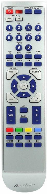Ersättnings Fjärrkontroll RM-ED047