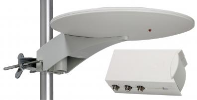 Båt/ Marin / Camping Antenn med LTE skydd + 12V / 240V  Nätdel