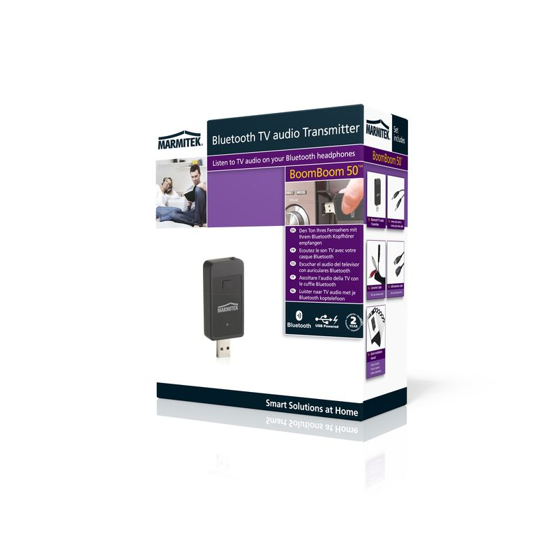 BoomBoom 50 Gör om hörlursuttag till Bluetooth