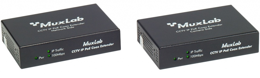 LongReach CCTV IP PoE Extender Kit 30W