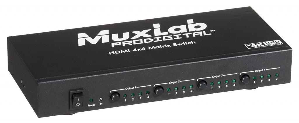 HDMI 4x4 Matris växel