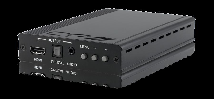 HDMI scaler med (De)+Embedding av ljud