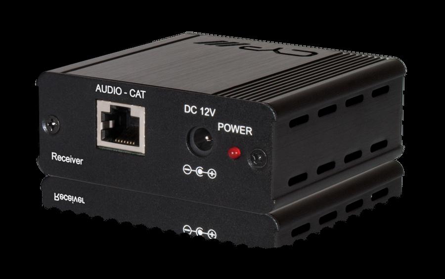 Digitalt ljud över 1 CAT kabel, Mottagare (PoC)
