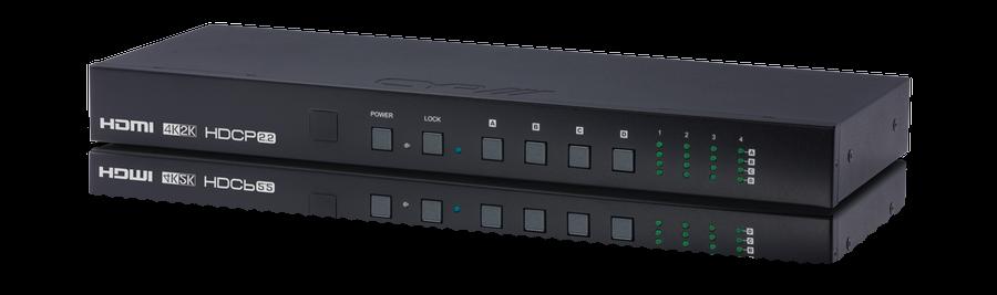 HDMI Matris 4x4, 4K, HDMI 2.0, HDCP 2.2