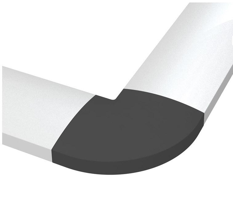 Kabelkanal Aluminium / Grå  500 x 61mm