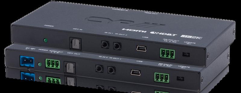 Slimline HDBaseT Lite Kit, 4K, HDCP2.2, PoH, OAR