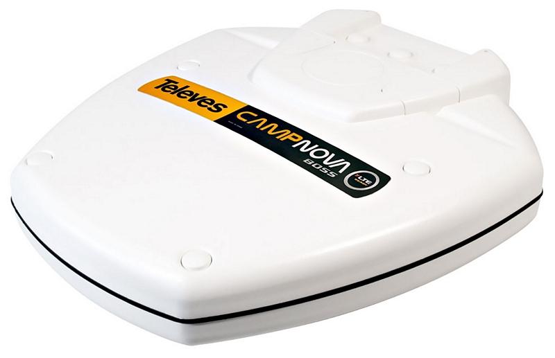 Antenn CampNova för camping och båt med LTE & BOSS teknik