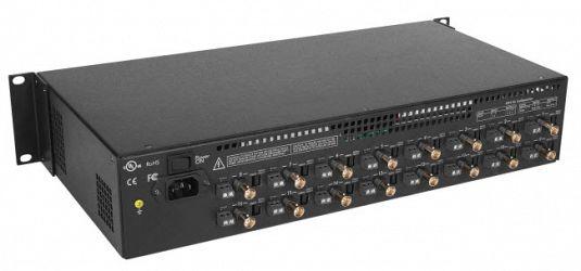 Passiv CCTV Power Integrator Hub 16 kanaler